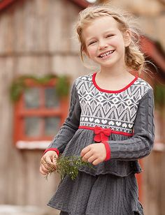 Knitting In Swedish Sweater Dress Product Information