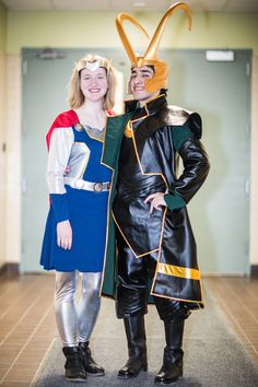#cosplay #thor #loki