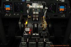 unser Boeing 737-800 Simulator Schubhebel (Throttle)