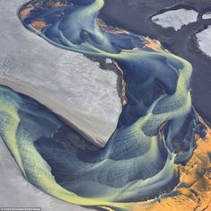 Breathtaking images of Iceland's spectacular glacial rivers by Russian photographer Andre Ermolaev | Mail Online