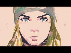 Olhares: Cara Delevingne em nova campanha da Chanel