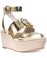 MICHAEL Michael Kors Luna Platform Wedge Sandals