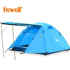 93.14$  Watch here - http://aliv3w.worldwells.pw/go.php?t=32741262587 - 3-4 persons Doubledoor Aluminum Pole Tent Camping Windproof Waterproof Double Layer Tent Ultralight Outdoor Hiking Picnic tents 93.14$