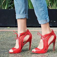 Nine West Momentous Suede Sandals Shoes Heels Boots, Pumps Heels, Stiletto Heels, Sandal Heels, Couture Shoes, Beautiful High Heels, Red Sandals, Hot Heels, Fashion Heels