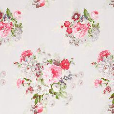 Blooms fabric * Grey * Cath Kidston