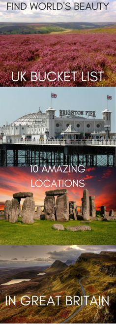 UK bucket list: 10 amazing locations in Great Britain – Find World's Beauty