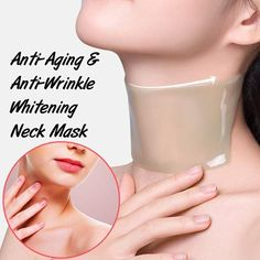 Anti-Aging/Anti-Wrinkle Whitening Neck Mask This Of Anti-Aging/Anti-Wrinkle Whitening Neck Mask has what you need to have firmer, more youthful looking neck. It will tighten your neck skin with care, and facilitate the. Best Anti Aging, Anti Aging Cream, Anti Aging Skin Care, Organic Skin Care, Natural Skin Care, Organic Facial, Beauty Hacks For Teens, Younger Skin, Skin Care Treatments