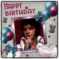 elvis presley birthday | ... just added to it and made a birthday card out of it for men