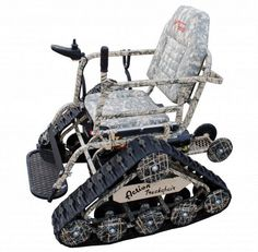Two paralyzing accidents inspired this motor sports dealer. His new vehicle is half-wheelchair, half-ATV. And it's helping the disabled return to hunting, fishing and hiking again. Hear the story of Action Track Chair. - The story of Action Track Chair, today on Why Didn't I Think of That? - https://thinkofthat.net/app/action-track-chair-2/