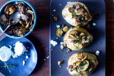 baked potatoes with wild mushroom ragù | smittenkitchen.com
