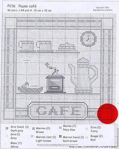 Gallery.ru / schema caffé