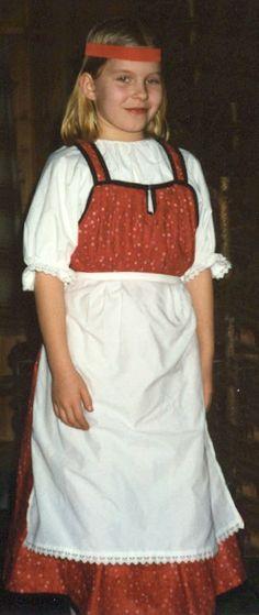 feresi - National dress of Eastern Finland.