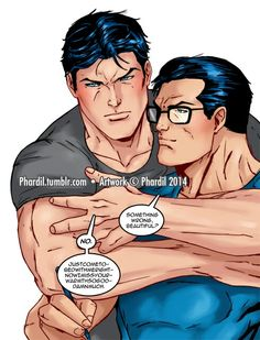 11/29/15  12:52a  DC Batman  aka Bruce Wayne Superman aka Clark Kent    Warmth phardil.tumblr.com