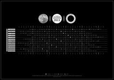 Lunar Calendar 2011 on Behance