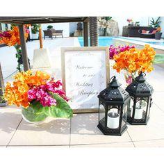 . . ウェルカム! 陽気な結婚式をたのしんで♡ . #flowerwalkpopo #富山県 #結婚式 #ウェディング #結婚式準備 #花嫁準備 #プレ花嫁 #オリジナルウェディング #テーマウェディング #夏 #サマーウェディング #南国 #リゾートウェディング #受付 #ウエルカムボード #花屋 #花 #ブライダル #wedding #weddingflowers #bride #bridalflowers #bridal #instflower #flowerstagram #repost #summer #flowerpic #resortwedding