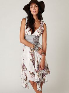 Free People FP ONE Wisteria and Lattice Dress at Free People Clothing Boutique