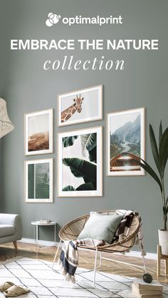 Nature inspired framed posters   #artprints #posters #walldecor #wallart #poster #frames #interior #inspiration #photography #nature #livingroom