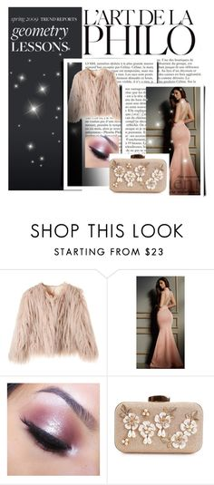 """Beautiful because it want"" by deyanafashion ❤ liked on Polyvore featuring Lurelly, Too Faced Cosmetics, romwe, polyvoreeditorial, polyvorecontest, yoins and shein"