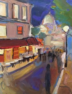 """""""Vincent meets Toulouse-Lautrec to discuss his portrait"""" I think about all the great painters who have lived here. #interiordesigners #interiordesignideas #architects"""
