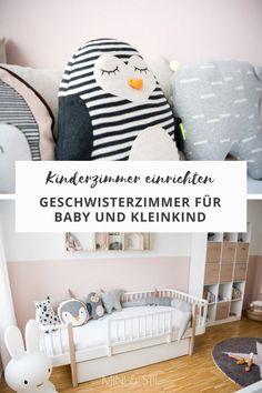 Kinderzimmer Mit Oliver Furniture Einrichten: Ein Geschwisterzimmer Für  Baby Und Kleinkind #kinderzimmer #babyzimmer