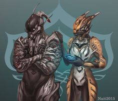 Friends - Valkyr and Ash by Na1t on DeviantArt