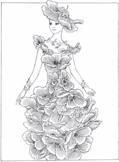 Pin by Tri Putri on Fashion Dress Drawing Pinterest Learning