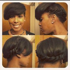 Need my ends clipped so I twisted them up for a Grecian inspired style.