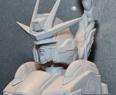 [Gundam Build Fighters Try] Build Burning Gundam Head Display Base: Hi Res Images @ Chara Hobby 2014, info http://www.gunjap.net/site/?p=203690