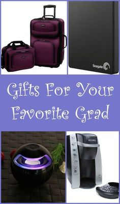 Gifts for your Grad #spon