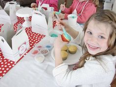 Baking Birthday Party Ideas | Photo 1 of 19 | Catch My Party