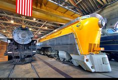 CO 490 Chesapeake & Ohio (C) Steam 4-6-4 at Baltimore, Maryland by Mitch Goldman