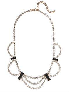 our ice drape necklace!