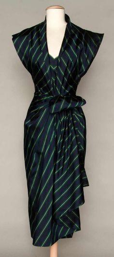PATULLO-JO COPELAND DRESS, 1940s