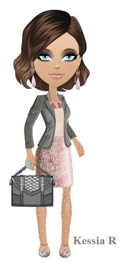 Work outfit for fall, autumn. Gray pink, mall world
