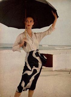 Louise Dahl-Wolfe, Harper's Bazaar 1954