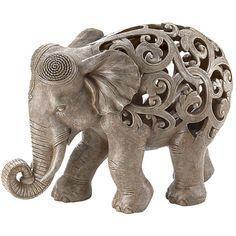 Elephant sculpture - Indian Influence