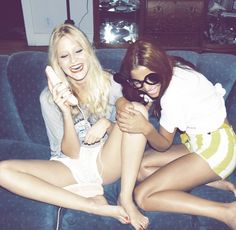 Best Friends Laughing