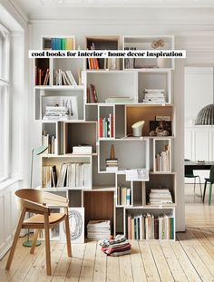 Check out this list of cool books for interior inspiration whenever you need some home decor inspo - all 24 books are available on Amazon Prime too! #homedecor #books #musthave #interiordesign #inspiration