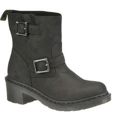 Dr. Martens Women's Diza Ankle Biker Boot | shoemall | free shipping!