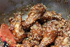 finished sweet and sour chicken wings by David Lebovitz, via Flickr