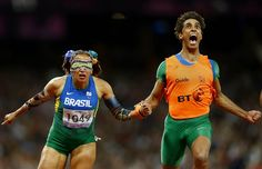 Blind runner in the paralympics, seriously, you rock.