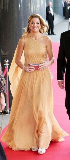 Queen Maxima of the Netherlands in Jan Taminiau, great designer!
