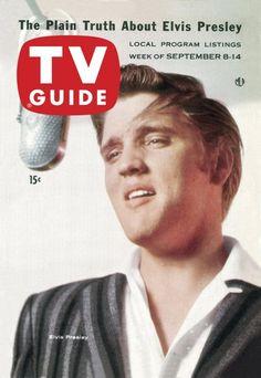 TV Guide: September 8, 1956 - Elvis Presley