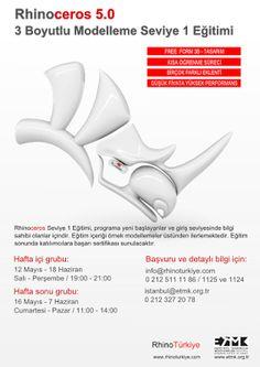 Rhino News, etc.: New Rhino Level 1 dates in Turkey