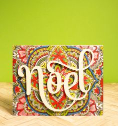 Bold colored backgrounds for Holiday Cards — Michelle Yuen Design