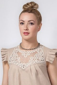 Point Lace, Bobbin Lace, Blouse Designs, Photo Wall, Couture, Tank Tops, Pattern, Bruges, Dresses