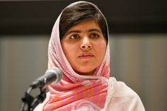 """A Pakistani Taliban leader sends a letter to schoolgirl Malala Yousafzai, expressing shock that the teenage campaigner was shot by Taliban gunmen last year."" Sorry Malala, we shot you because you speak badly of us. Malala Yousafzai Quotes, Asia News, Change The World, Role Models, Equality, The Voice, Beautiful People, Amazing People, In This Moment"