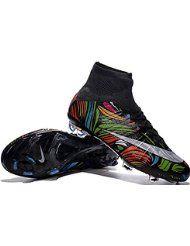Andrew zapatos para hombre Mercurial Superfly FG Botas de fútbol, hombre, arco iris, 41