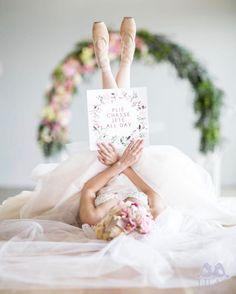 A #ballerina #Wedding dream   See on #confettidaydreams.com #weddingblog now!  Photographer: @lilacphotography.za Styling and florals @paramithiflowers Stationery @melissaprettyinstains  Hair and makeup - Fringe Gowns @janitatoerien Gowns @cjahautecouture Cake @tessas_bakery Models @bothasimone @gabriellebotha  Venue @landtscap  #weddings #balletwedding #ballet #ballerina #balletbride #ballerinawedding #ballerinabride #pinkwedding #blushwedding #dancerwedding #dancer #romanticwedding…