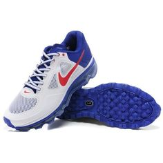 New Nike Air Trainer 1.3 Max Breathe MP Shoes White/Blue/Red MX-376 via Polyvore